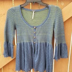 FREE PEOPLE WOMENS TOP SIZE XS